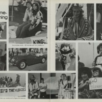 """Two-Page """"Homecoming"""" Spread in Kynewisbok, 1977"""